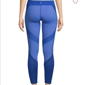 886db1313b05d1 NWT Electric Yoga Blue Mermaid Leggings